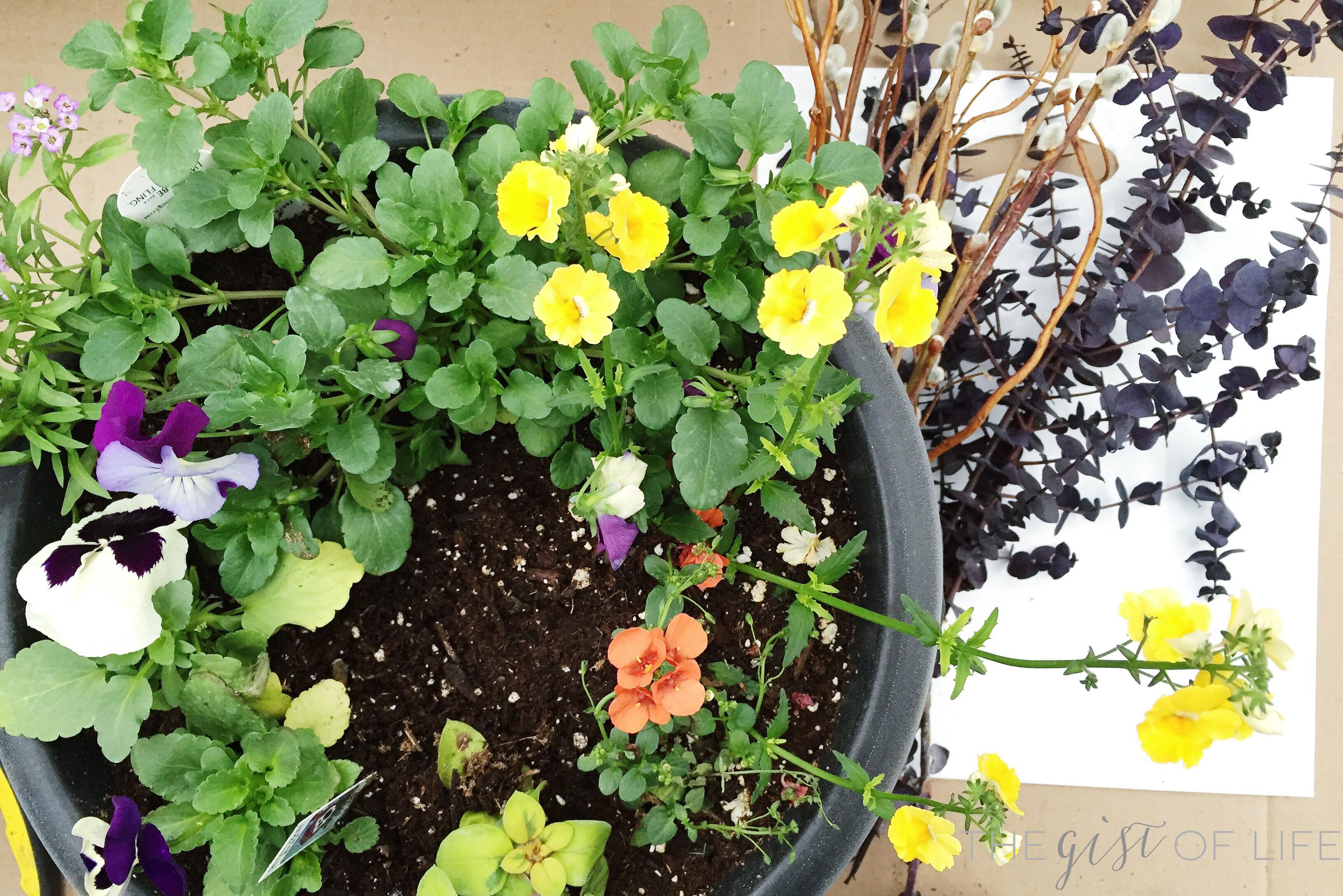 Flower pot class